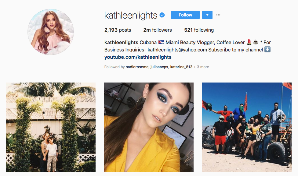 kathleenlights top beauty vloggers