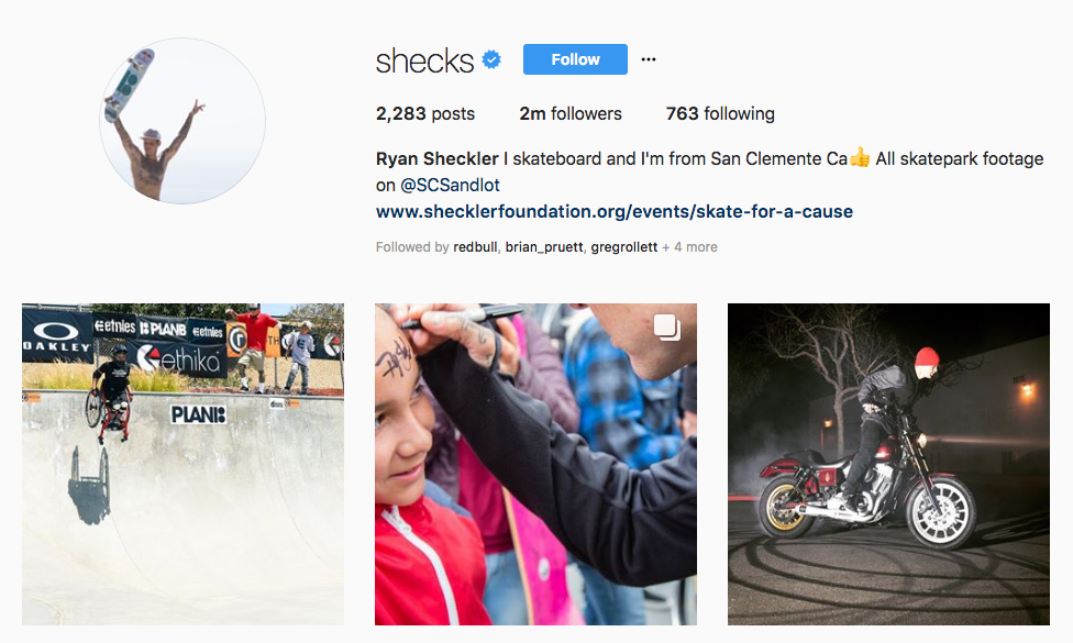 Ryan Sheckler top sports influencers
