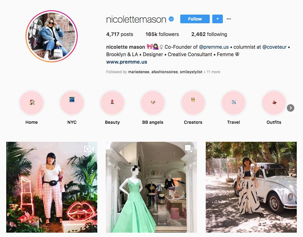 nicolette mason top online influencers