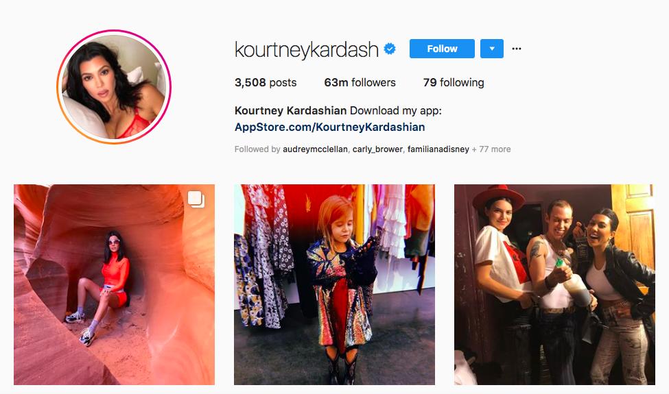 Kourtney Kardashian Top Only Influencers