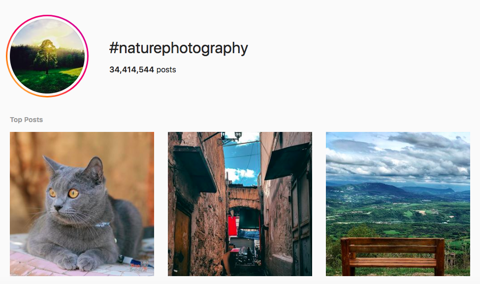 best outdoor instagram hashtags #naturephotography
