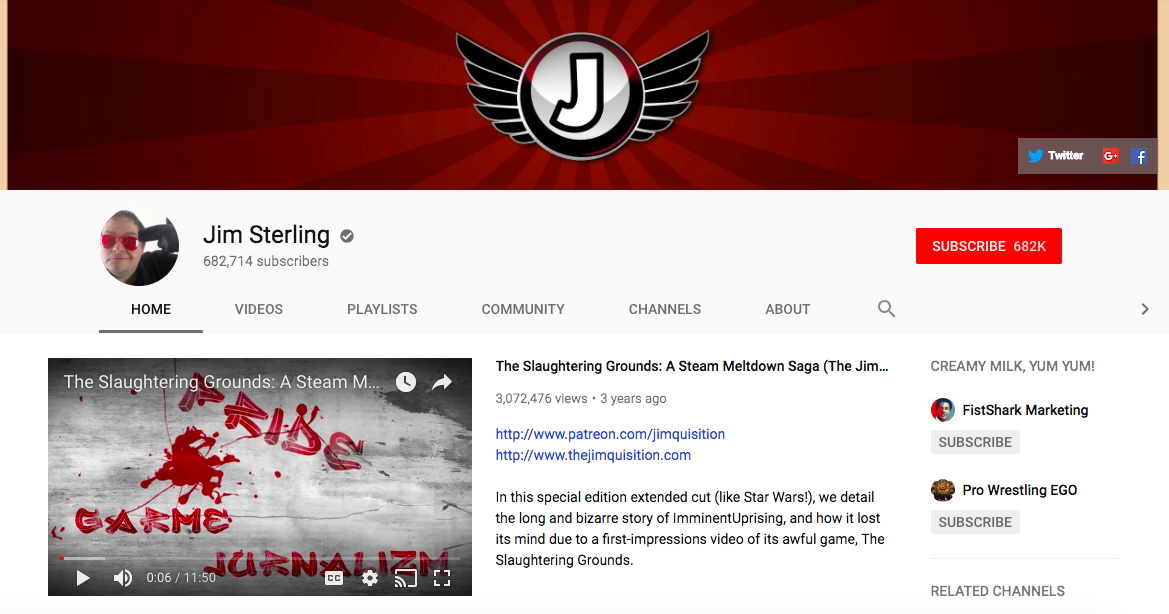 Jim Sterling mobile game influencers
