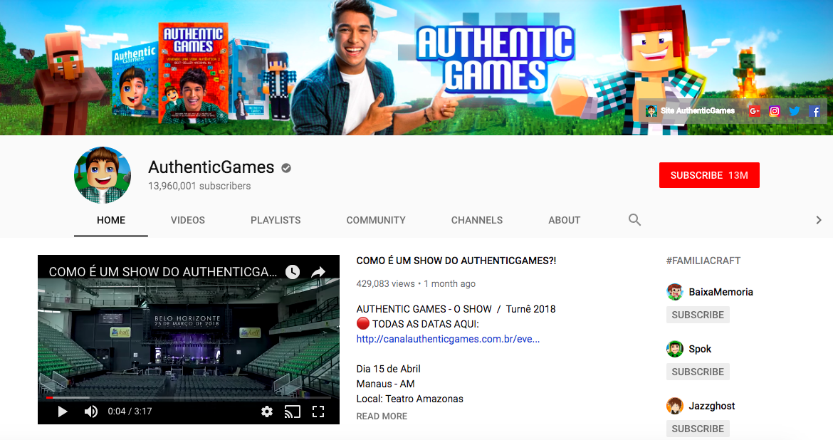 AuthenticGames mobile game influencers
