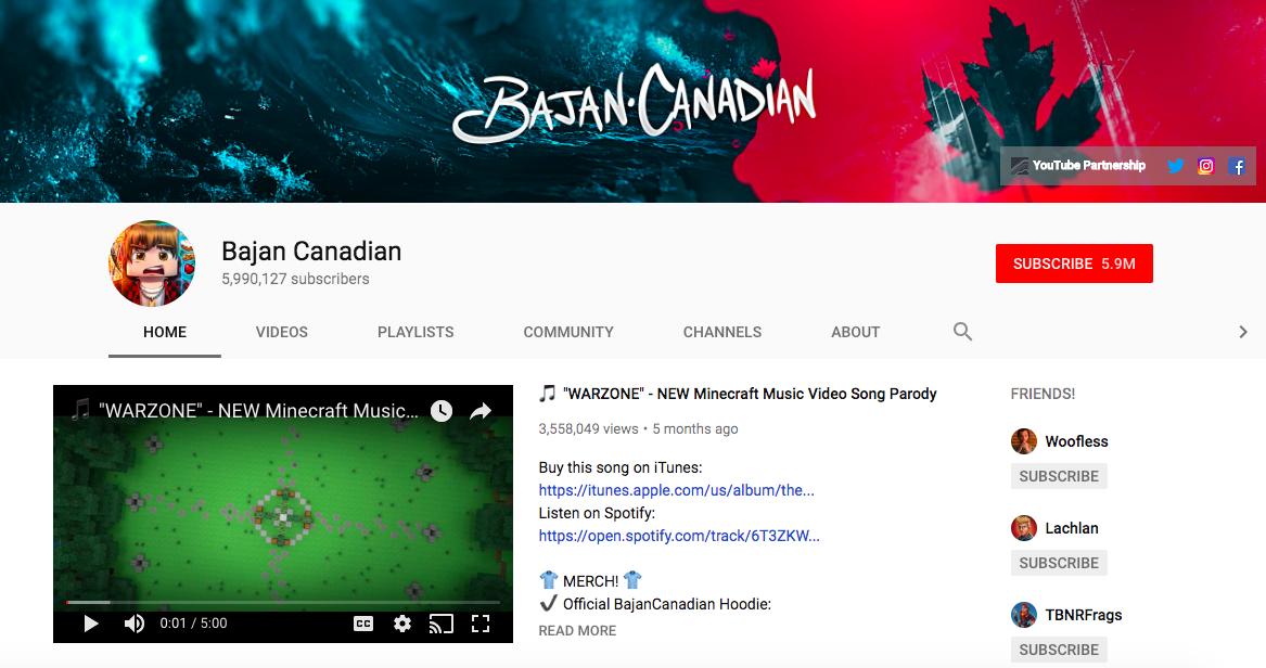 Bajan Canadian mobile game influencers