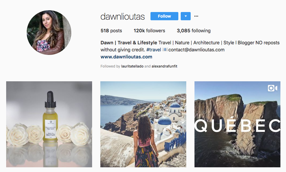 Dawn | Travel & Lifestyle hotel influencers