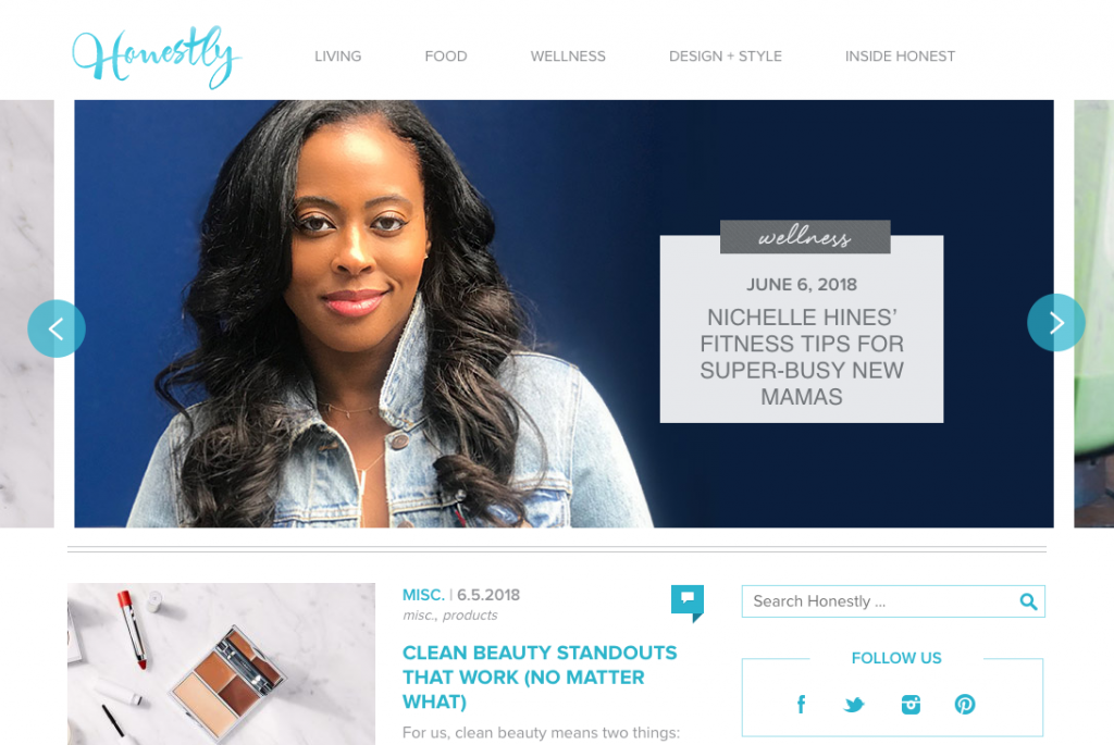 Honestly Ecommerce Content Marketing Examples