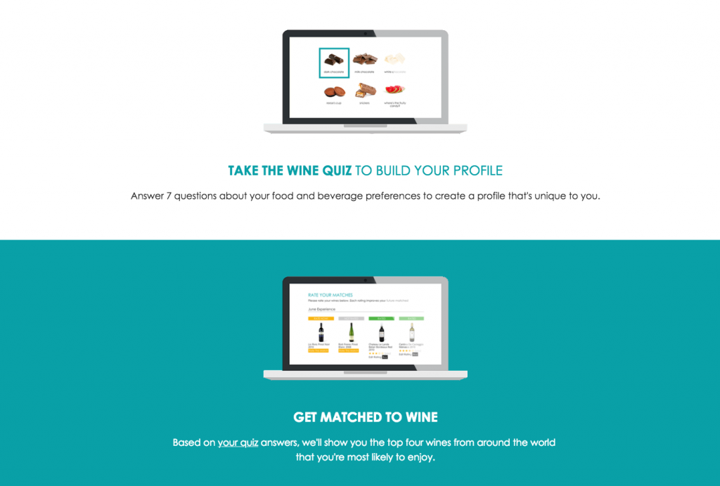 Bright Cellars Ecommerce Content Marketing Examples