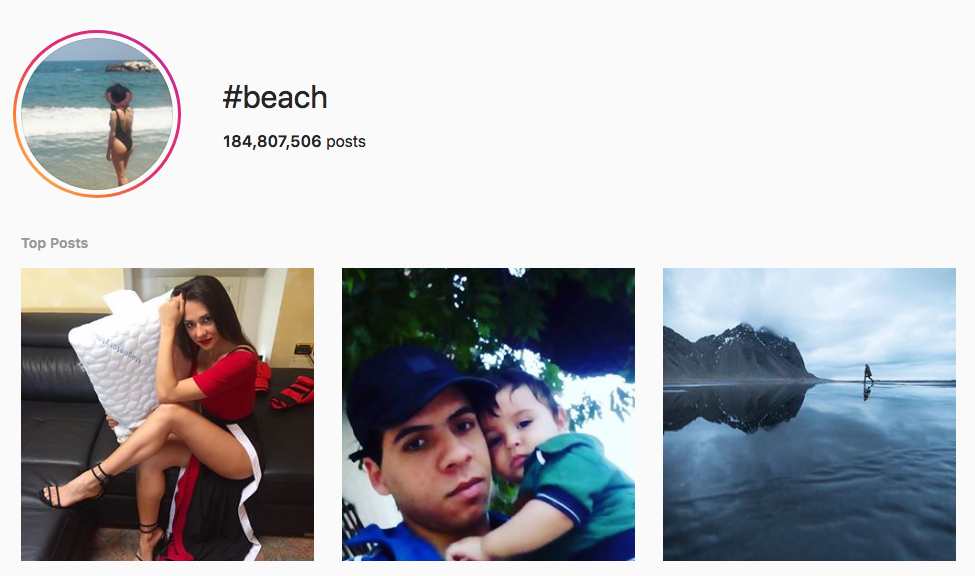 #beach top instagram influencers