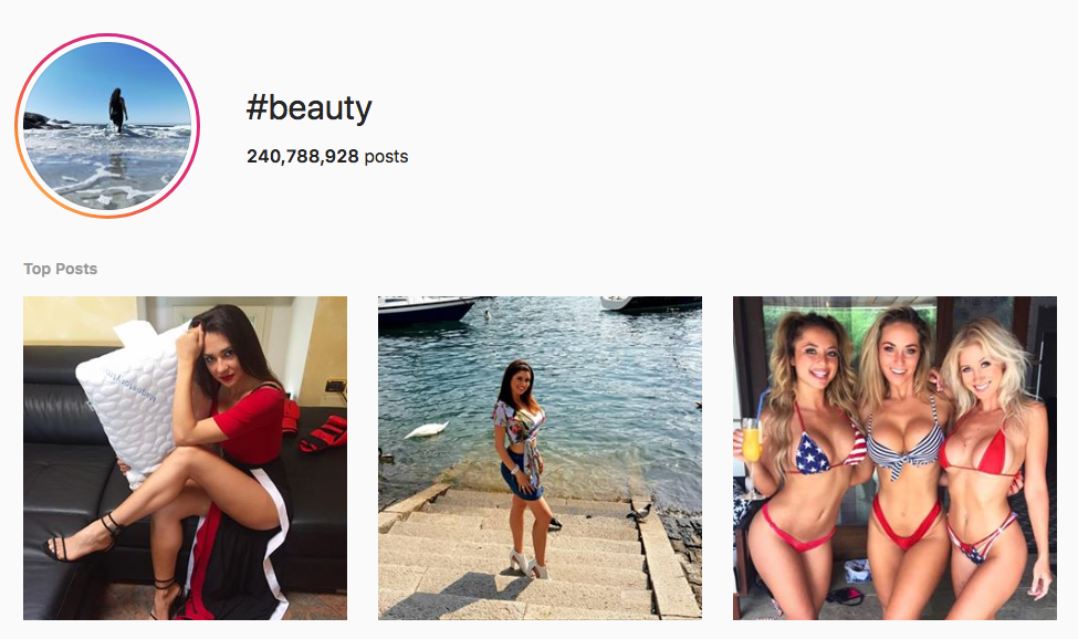 #beauty top instagram hashtags