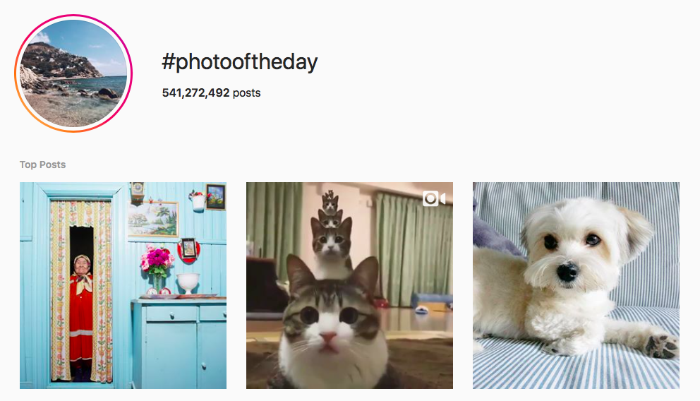 #photooftheday best instagram photography hashtags