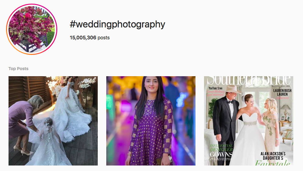 #weddingphotography best instagram photography hashtags