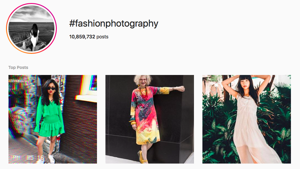 #fashionphotography best instagram photography hashtags