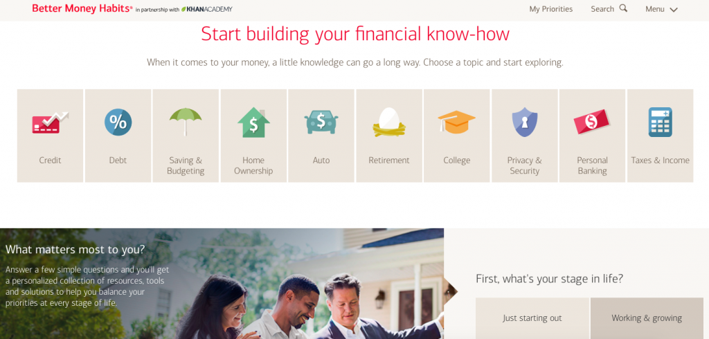 Bank Of America Bank Content Marketing Example