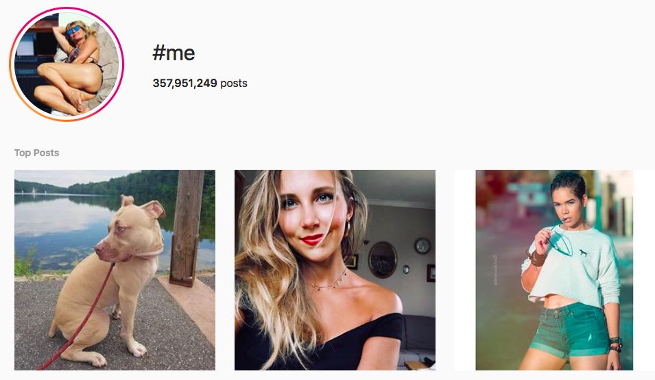 #me Trending Instagram Hashtags