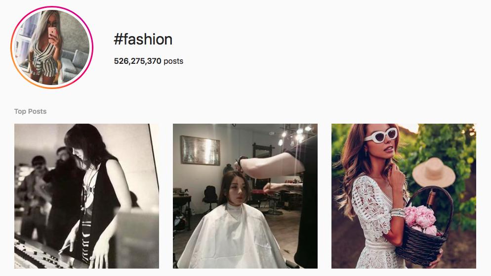 #fashion Trending Instagram Hashtags