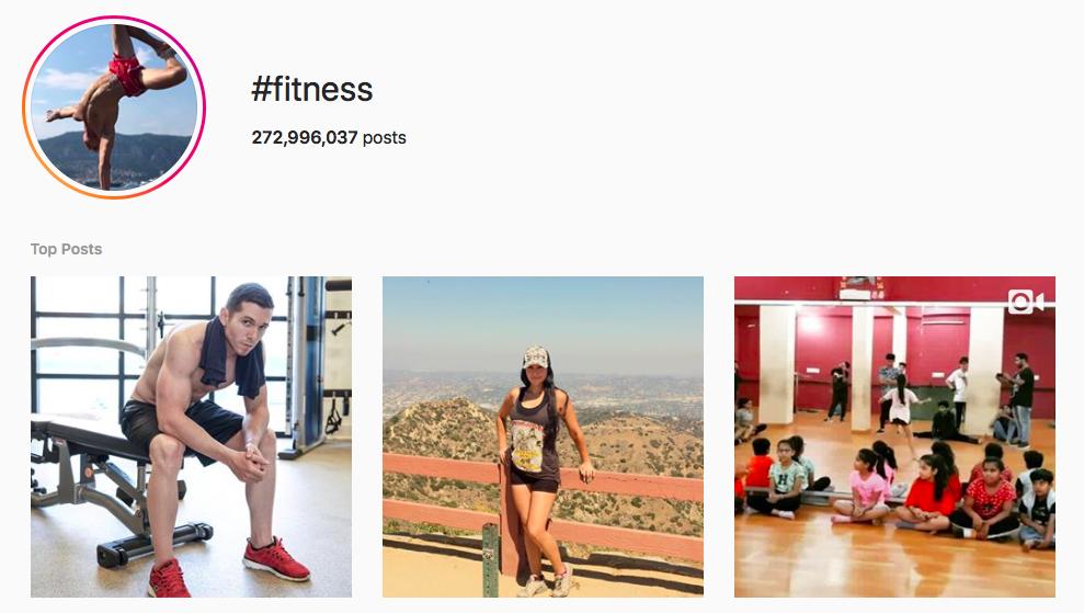 #fitness Trending Instagram Hashtags