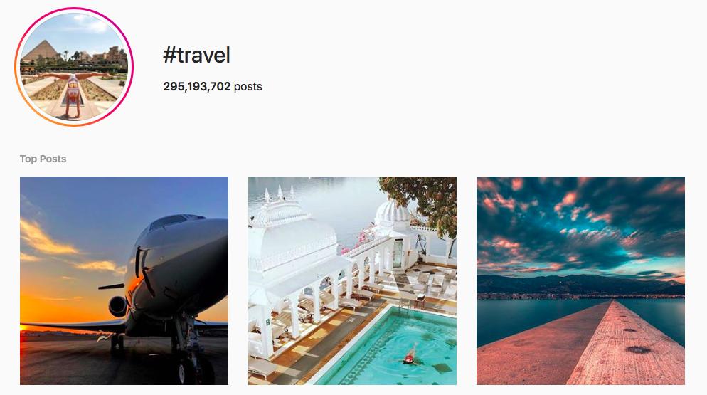 #travel Trending Instagram Hashtags