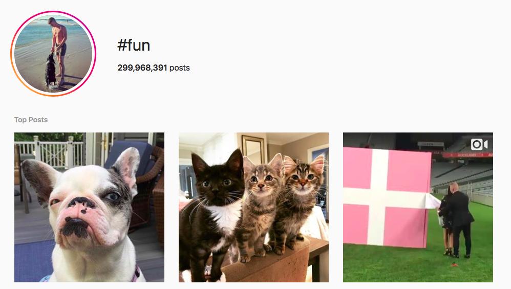 #fun Trending Instagram Hashtags