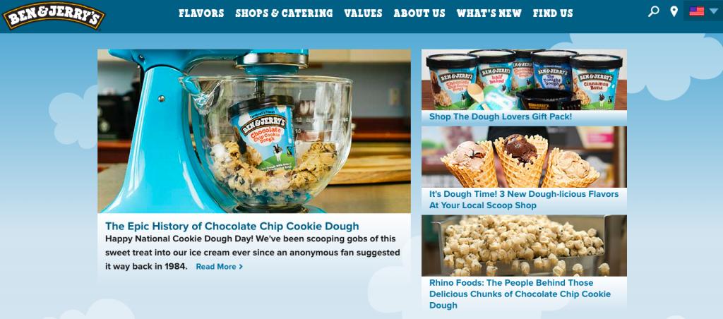 Ben & Jerrys Content Marketing Inbound Marketing