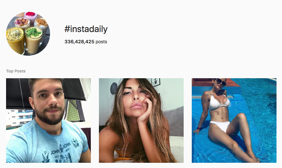 #instadaily top instagram hashtags