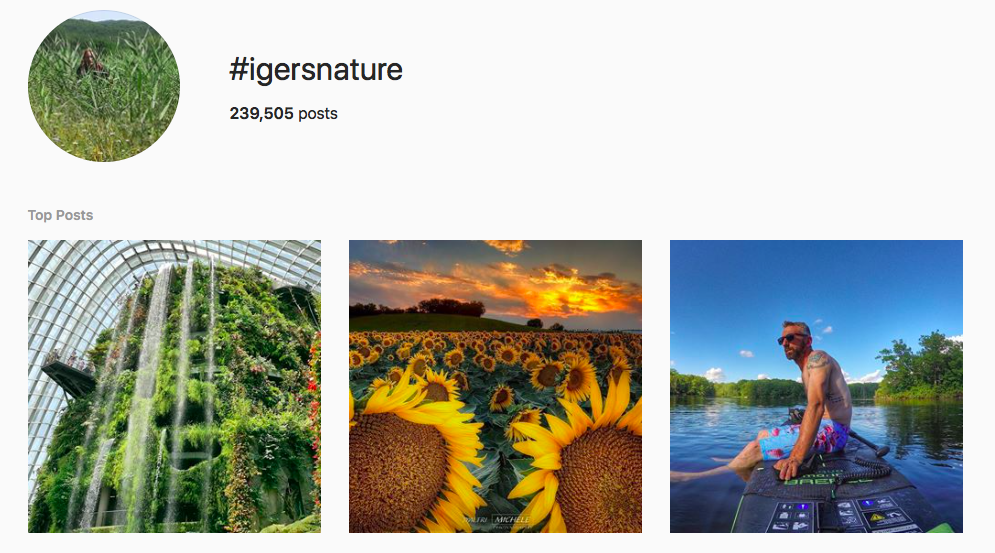 Nature Lover Hashtags 10 Of Instagram S Most Followed Nature Hashtags