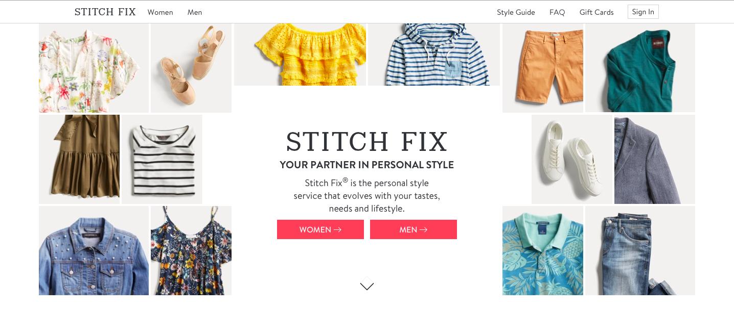 StitchFix Niche Influencer
