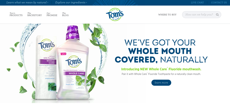 Tom's of Maine Niche Influencer