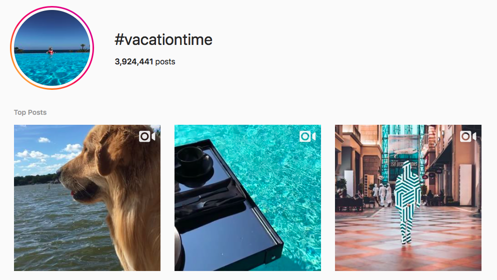 Top Vacation Hashtags 25 Highly Engaging Vacation Hashtags On Instagram