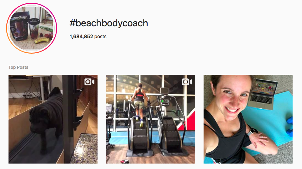 #beachbodycoach beach hashtags