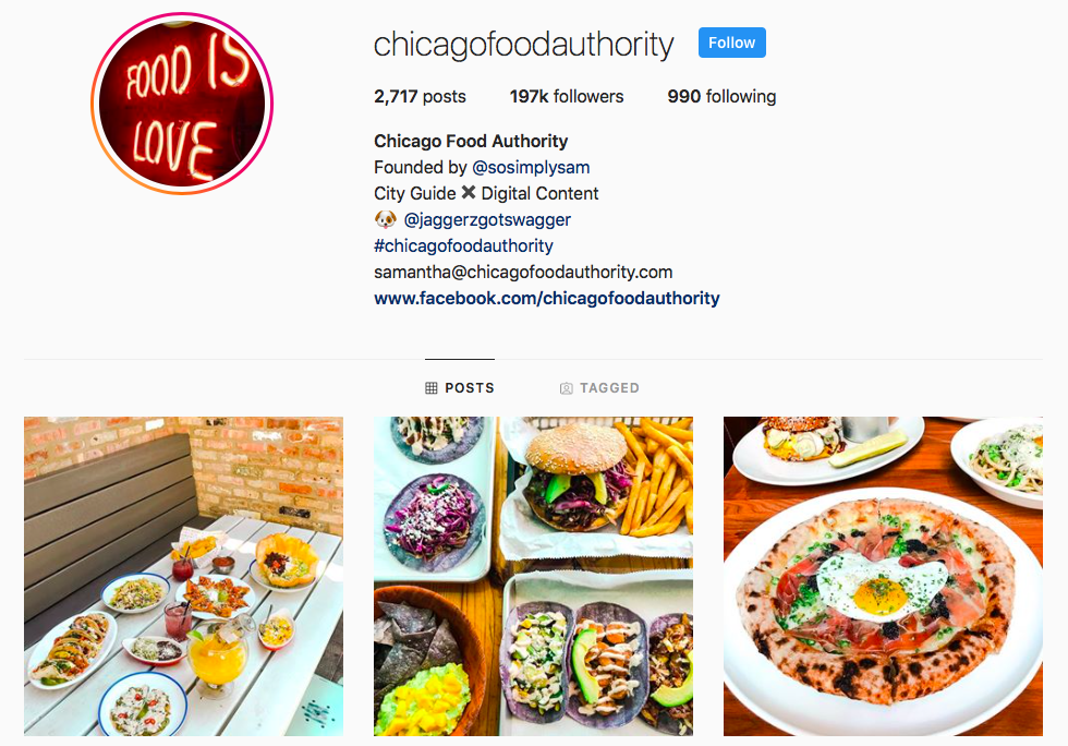 Samantha Roby top Chicago Influencers