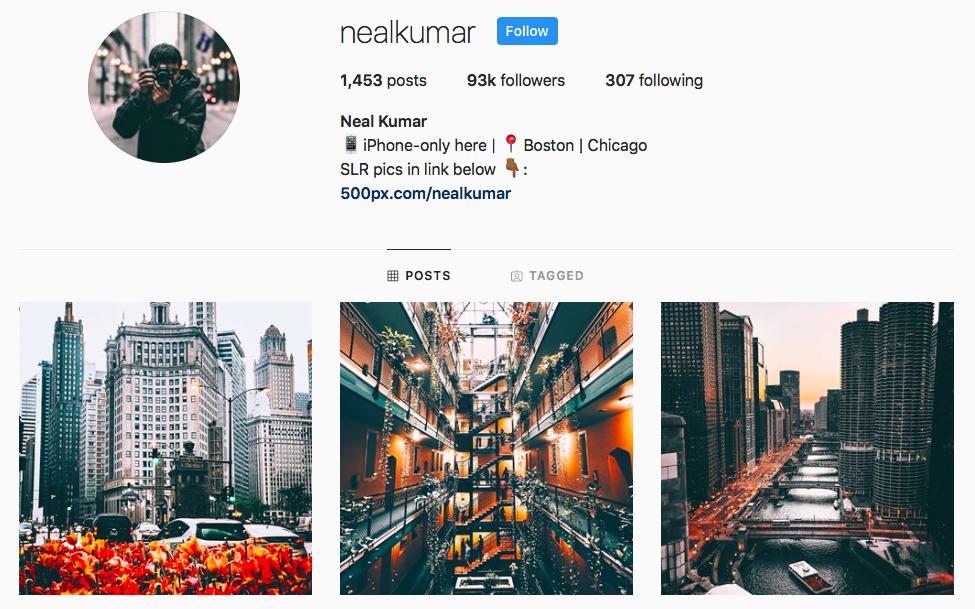 Neal Kumar top Chicago Influencers