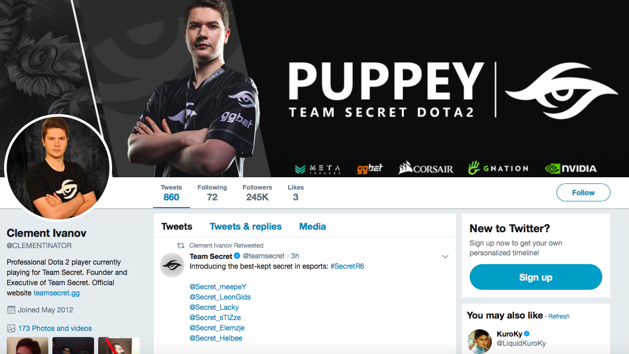 Clement Ivanov top eSports Influencers