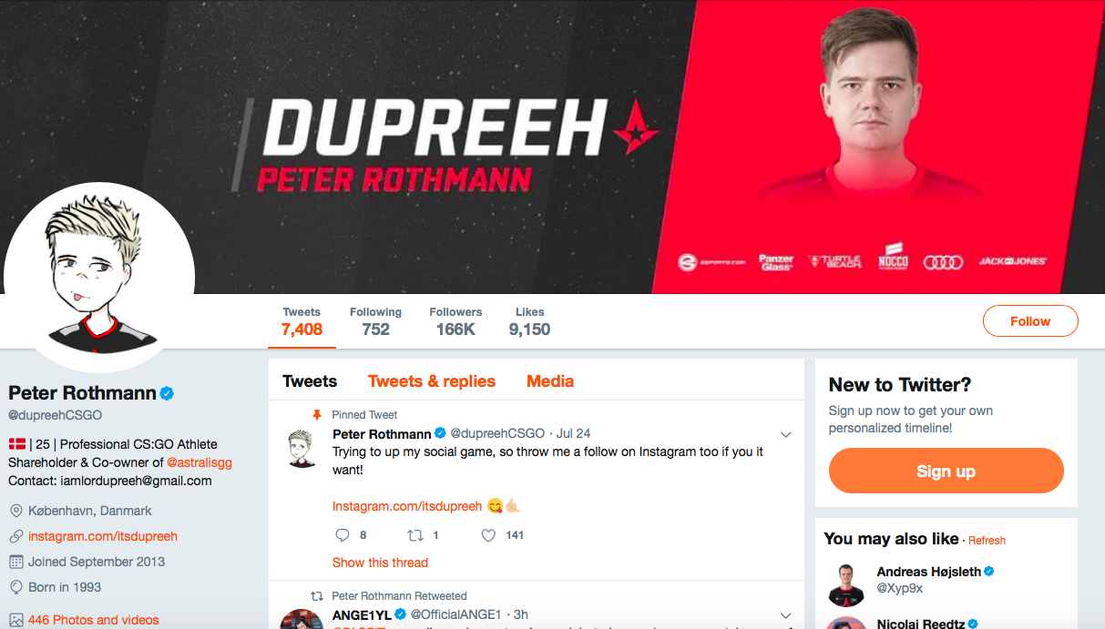 Peter Rothmann top eSports Influencers