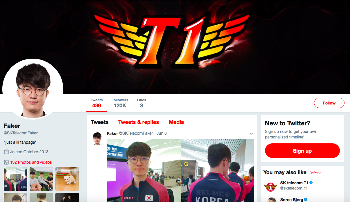 Lee Sang-hyeok top eSports Influencers