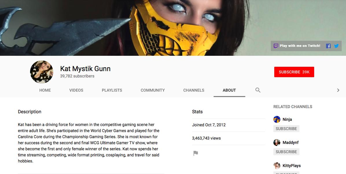 Katherine Gunn top eSports Influencers