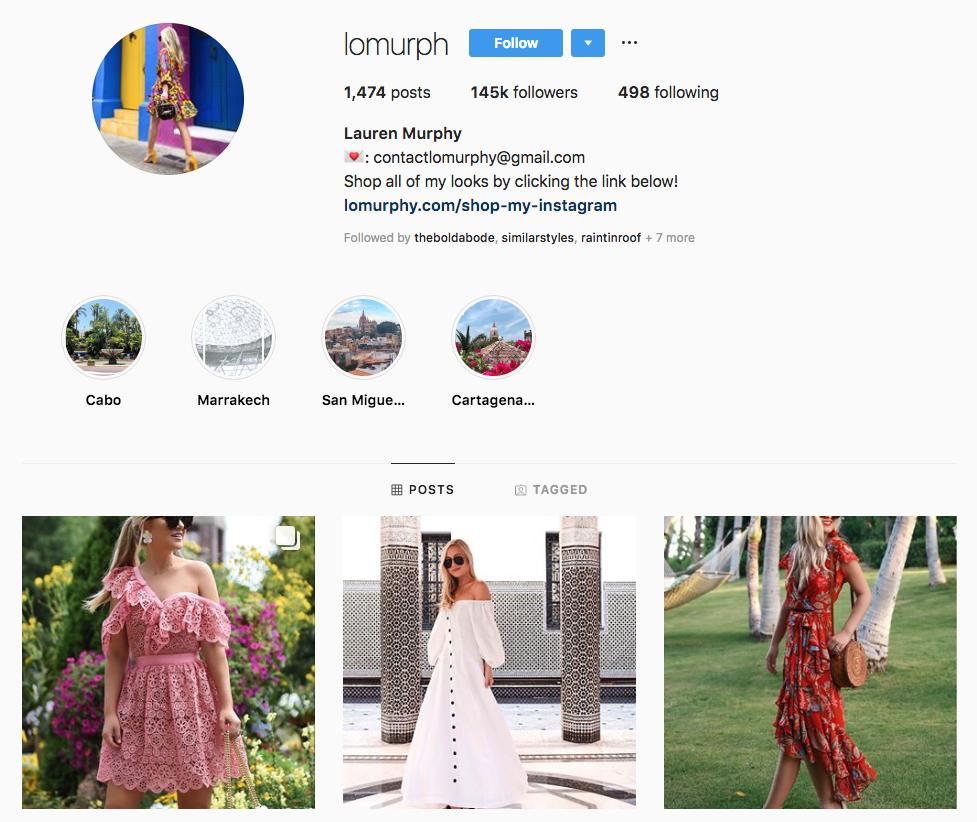 Lauren Murphy Top Dallas Social Media Influencers