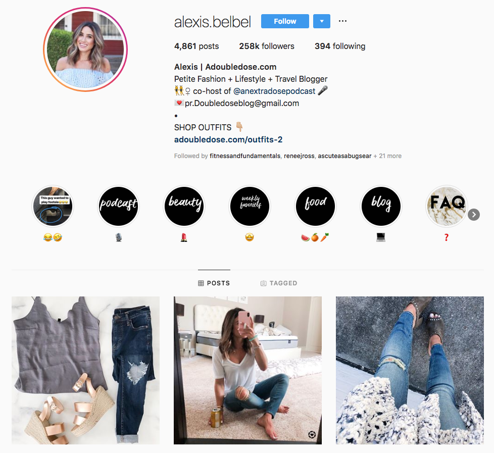 alexis belbel top dallas social media influencers