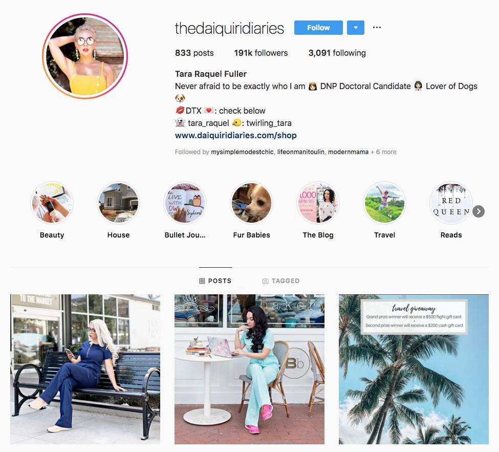 Tara Raquel Fuller top dallas social media influencers
