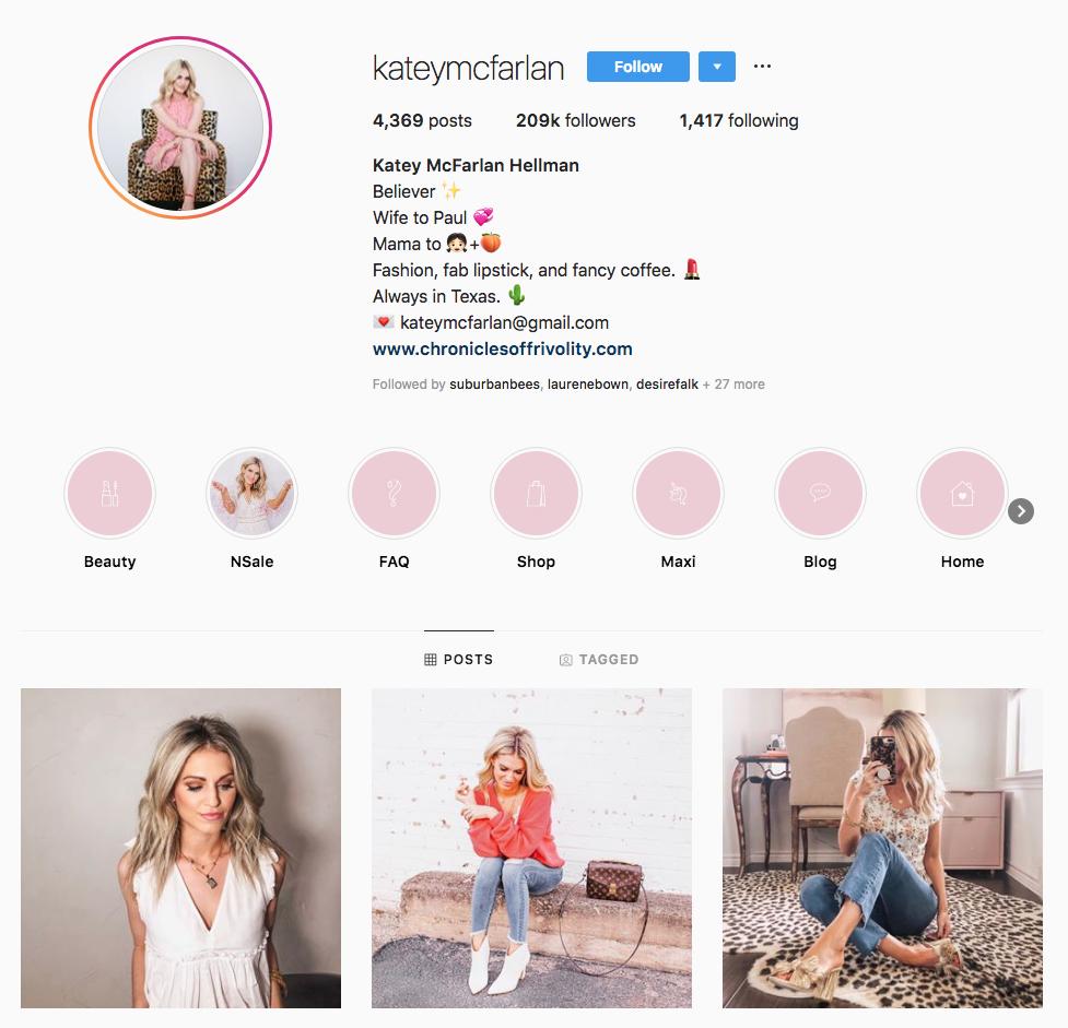 Katey McFarlan Hellman top Dallas social media influencers