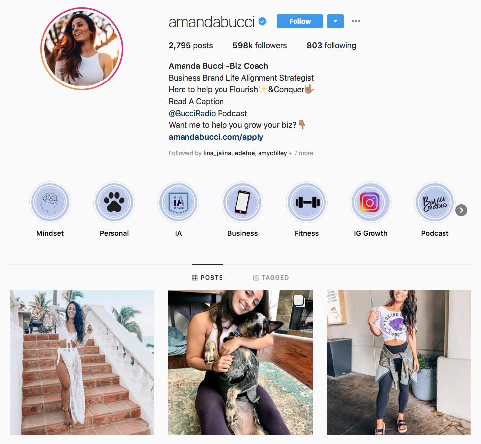 Amanda Bucci Top Los Angeles Social Media Influencers