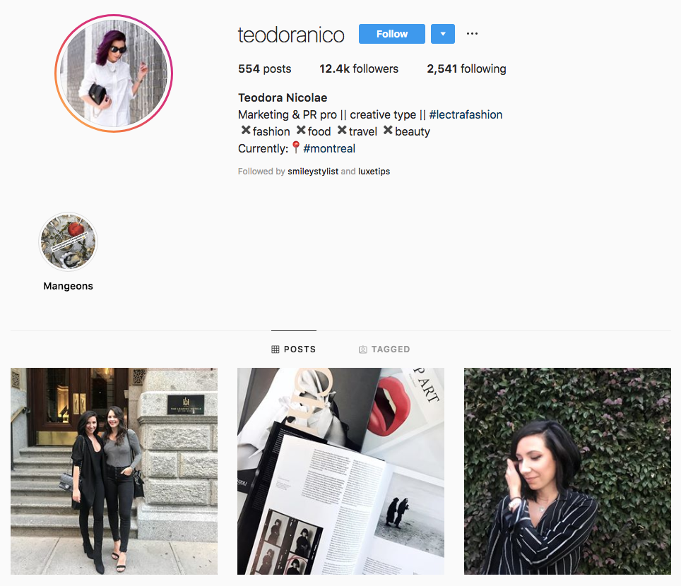 Teodora Nicolae top Atlanta Social Media Influencers