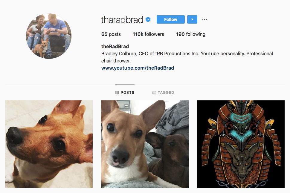 theRadBrad top Atlanta social media influencers
