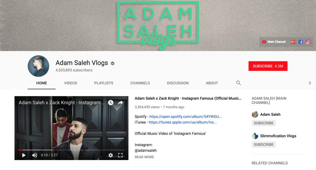Adam Saleh Vlogs Top New York Influencers