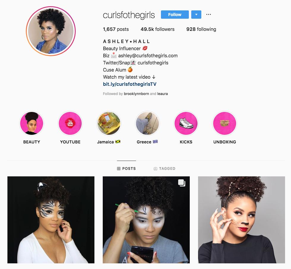 curlsfothegirls Top New York Influencers